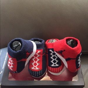 NIKE AIR JORDAN JUMPMAN BABY BOOTIES SOCKS 0-6M